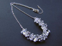 CLARITY - rock crystal necklace