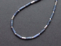 CORA - dumortierite necklace