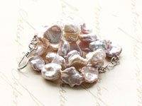 KARLA - keishi pearl necklace