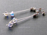 GIO - Swarovski crystal earrings