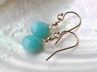 AMAZONITE jewel - earrings
