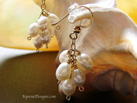 TOSCANA - pearl earrings