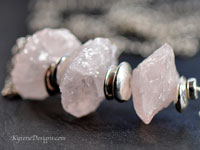 STRAWBERRY ICE - rose quartz